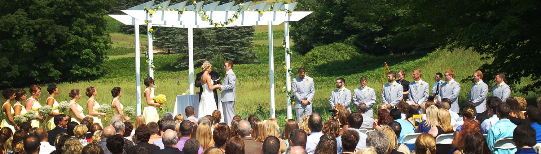Caberfae peaks ski golf resort wedding ceremonies wedding ceremonies junglespirit Choice Image